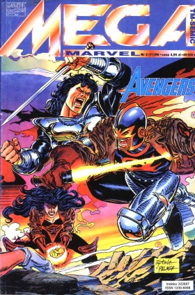 Mega Marvel 02/1996 – Avengers: Ex Post Facto cz. 1