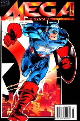 Mega Marvel 03/1997 – Captain America